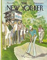 1974 New Yorker May 13 - The Forgotten Golfer