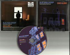 DAVE MATTHEWS & BLUE MAN GROUP Sing Along USA PROMO Radio DJ CD Single 2003
