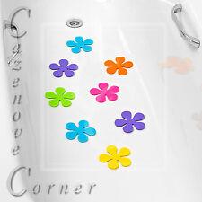 ANTI-SLIP BATH PADS - Flowers bath mat pads. NON-SLIP Suction pads. Shaped mat