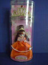 "Vintage Takara Orange Gems Doll "" La Reine Rose ""By Sanrio Princess + Rare Tiara"