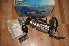 sony VX2000 ntsc system complete camcorder camera in box handycam dcr-vx2000