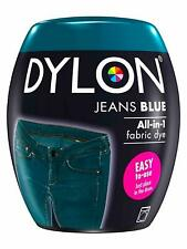 22 COLOURS DYLON FABRIC & CLOTHES DYE MACHINE WASH 350g POD NEW - CHEAPEST