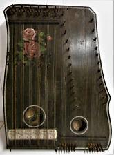 Zither Zitter Akkordzither Zupfinstrument Instrument Deko 50er 60er Bastler Rar