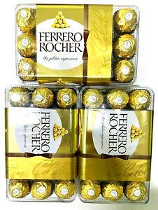 3 X FERRERO ROCHER 375G ( 30 EACH ) TOTAL ( 90 FERRERO ROCHERS ) EXPIRY 07/2021