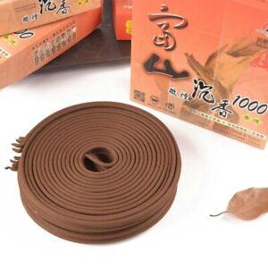 Fushan Premium Sandalwood 1000 富山檀香優選沉香 24 hrs incense coil 10 coils/ pack x1*