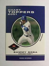 SAMMY SOSA 2001 FLEER PLATINUM BASEBALL CARD # 429 C8129