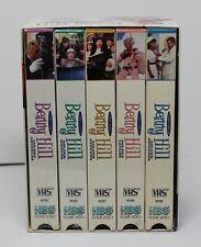 HBO Benny Hill's 1st Golden Laughter Series 5 VHS set (VHS 5 Tape Set, 1997)