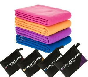 Large Quick Drying Microfibre Towel for Any Travel Swimming Gym Sports Yoga Dry