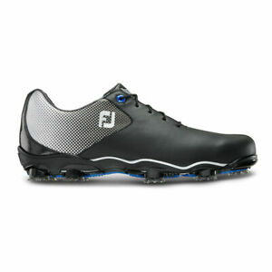 New in Box Footjoy DNA Helix Men's Golf Shoes, Style #53318, Black and White
