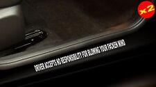 BLOW YA MIND Aussie 4x4 V8 JDM Turbo Accessories Funny Stickers 400mm (x2)