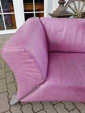 Rolf Benz 322 Design Klassiker - Leder Sofa Dreisitzer Couch Echtleder