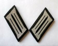 DDR NVA Kragenspiegel schwarz für Uniform KFZ Pioniere East german collar tabs