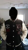 Adidas NEU STAR WARS Super Death Star Stormtrooper Collegejacke Sammlerzustand