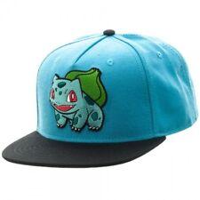 c563e580a4c Pokemon Bulbasaur Color Block Snapback Cap Apparel
