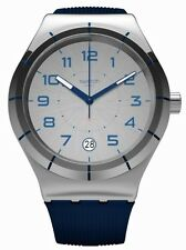 Swatch SISTEM NAVY Rubber Mens Watch YIS409