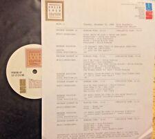 RADIO SHOW: OTIS BLACKWELL 12/20/88 7 ELVIS PRESLEY HITS,BILL BLACK COMBO,McCOYS