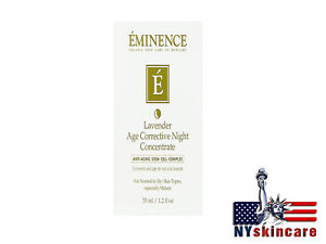 Eminence Lavander Age Corrective Night Concentrate 35ml/1.2oz Brand New