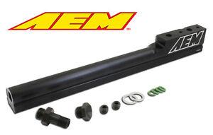 AEM 25-100BK High Volume Fuel Rail For 1994-2001 Acura Integra B18B1 B18C1 B18C5