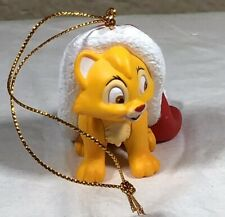 Grolier Disney Christmas Magic Oliver Cat Ornament with Box