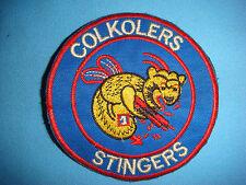 VIETNAM WAR PATCH, US MARINE  HMM- 365 COLKOLERS STINGERS