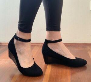 Sandler Wedge Suede Shoe Size 10