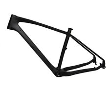 "New 17.5"" Carbon Fat Bike Frame Snow Thru Axle 197 12mm MTB UD Matt 4.8"" 26er"