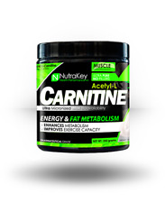 NutraKey ACETYL L-CARNITINE Powder | 500 Servings | Unflavored | Burn Fat