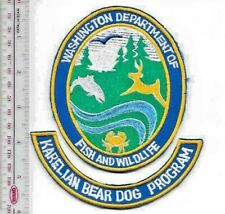 K-9 Police Washington State Department of Fish & Wildlife Karelian Bear Dog Prog