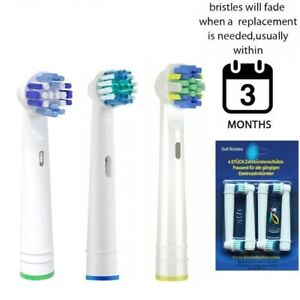 Electric Replacement Brush Toothbrush Heads Compatible With Oral B Braun Models