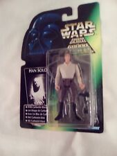 NEW1996 Star WarsThe Power Of The Force Green Card Tri Logo Han Solo +Carbonite