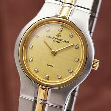 Vacheron & Constantin Phidias Stahl / Gold Damenuhr Diamanten Ref. 16010
