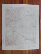 Del Norte Colorado 1957 Original Vintage USGS Topo Map
