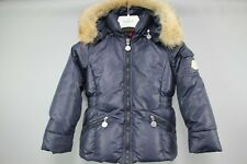 Auténtico Moncler Niñas Azul marino hacia abajo chaqueta talla 3 años/98
