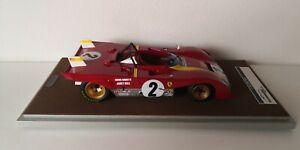 TECNOMODEL 1/18 TM18-61B Ferrari 312PB Daytona 1972 #2 Andretti-Ickx