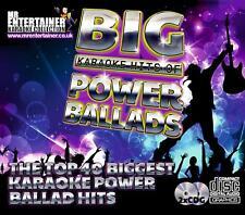 Mr Entertainer Big Karaoke Hits of Power Ballads. Double CD+G/CDG Disc Set