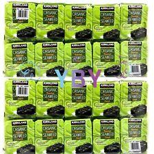 2 Packs Kirkland Signature Organic Roasted Seaweed Snack 10*0.6 OZ Each Pack