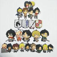 Attack on Titan anime key chain key chains   cute anime keyring lot