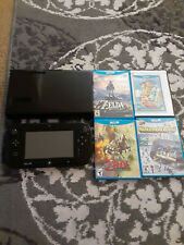 Nintendo Wii U 32GB Black Console Deluxe Set with Nintendo Land - WUPSKAFB