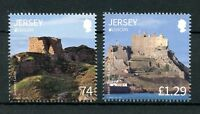 Jersey 2017 MNH Castles & Forts EUROPA ONLY 2v Set Architecture Stamps