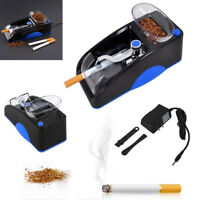 Electric Automatic Cigarette Rolling Machine Injector Maker Tobacco Roller Blue