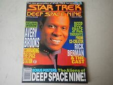 1993 Star Trek Deep Space Nine Official Magazine Vol. 2 with posters