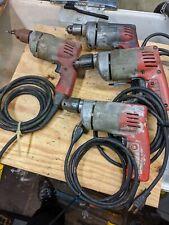 milwaukee corded drills 3/8