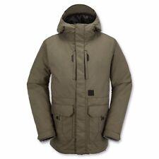 VOLCOM Men's RANGE Insulated Jacket - OLV - Medium - NWT