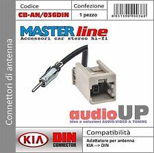 Connettore per antenna da GT13 a formato DIN per KIA Sorento dal 2013 in poi.