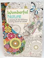 Oceanis Adult and Teen Coloring Book Beautiful Nature Patterns Theme