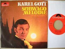 Karel Gott - Schiwago-Melodie - Single 1967 D Polydor 52 794 Alternativ-Cover