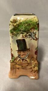 Rare Royal Doulton Noke 'Zunday Zmocks' Miniature 'Empire' Vase D5680