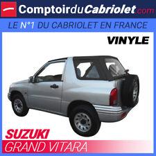 Suzuki Grand Vitara - Capote 5 parties en vinyle O.E.M noir