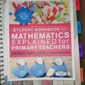 Mathematics Explained for Primary Teachers by Derek Haylock and Ralph Manning