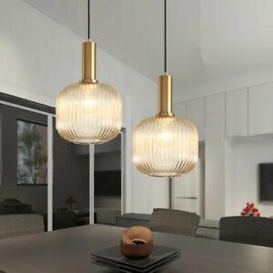 Modern Ceiling Lamp Glass Pendant Light Kitchen Lights Bar Chandelier Lighting
